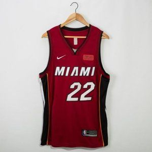 Miami Heat Jimmy Butler Red #22 Jersey